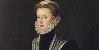 Retrato de Doña Juana de Austria. Alonso Sánchez Coello. © Patrimonio Nacional