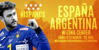Amistoso España - Argentina Balonmano