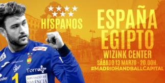 Amistoso España - Egipto Balonmano