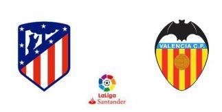 Atlético de Madrid - Valencia CF (Liga Santander)