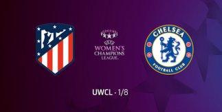 Atlético de Madrid femenino - Chelsea FC (UEFA Women's Champions League)