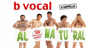 B vocal - Al natural, sin instrumentos añadidos