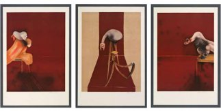 Francis Bacon: 2nd Version of Tryptych 1944 (Large Version), 1988 Litografía, 178,5 x 119,5 cm c/u, ed. de 30