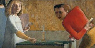 Balthus, La partida de naipes, 1948-1950