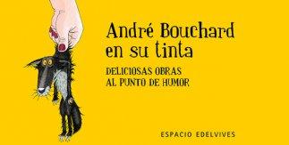 André Bouchard en su tinta