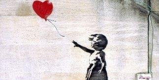 Niña con globo-Banksy