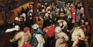 El baile nupcial, Pieter Brueghel el Joven, 1556