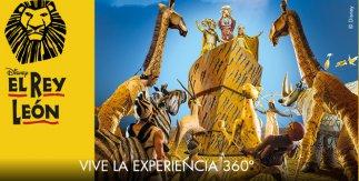 360º de El Rey León