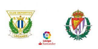 CD Leganés - R. Valladolid CF (Liga Santander)