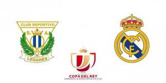 CD Leganés - Real Madrid (Copa del Rey)