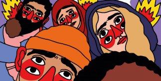 CEAR, 40 años de refugio. El asilo en España pintado por Ricardo Cavolo