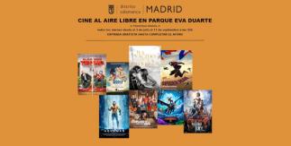 Cine de verano 2020 en el distrito de Salamanca