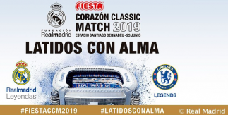 Corazón Classic Match 2019. Real Madrid - Chelsea