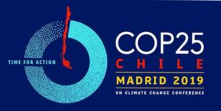 COP25 - Conferencia de las Naciones Unidas sobre el Cambio Climático. Madrid 2 al 13 de diciembre de 2019