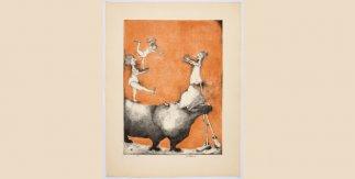 El circo loco 4_1968_ Litografía