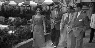 Elizabeth Taylor y Michael Wilding. 1953. Fondo fotográfico Gerardo Contreras. Archivo Regional de la Comunidad de Madrid