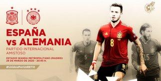 España - Alemania (Partido amistoso)