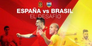 España - Brasil (Fútbol Sala)