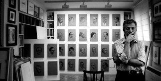 Estudio del pintor. Colección particular (Madrid). Foto María Bisbal.