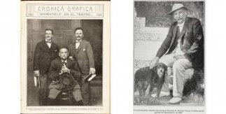 © Mundo gráfico. Crónica Gráfica. Benito Pérez Galdós y los hermanos Álvarez Quintero / Mundo gráfico. Crónica Gráfica. Benito Pérez Galdós y los hermanos Álvarez Quintero