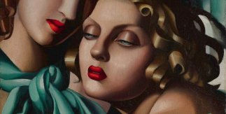 Tamara de Lempicka, The young girls, 1930 ca. © Tamara Art Heritage
