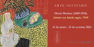 Henri Matisse. Interior con helecho negro