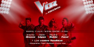 La Voz - En concierto