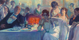 Falenas. Carlos Verger Fioretti (1872 - 1929). Óleo sobre lienzo, 1920. Madrid, Museo Nacional del Prado (depositado en Zamora, Museo de Zamora)