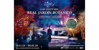 Las Luces del Real Jardín Botánico / Christmas Garden Madrid