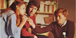 María Luisa San José, José Sacristán y José Luis Alonzo en El diputado 1978 © Foto Antonio Cuevas