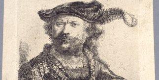 Rembrandt van Rijn. Autorretrato.1638.