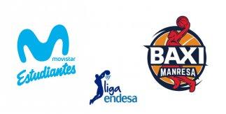 Movistar Estudiantes - BAXI Manresa (Liga Endesa. Jornada 1)