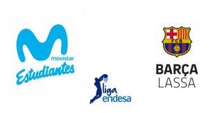 Movistar Estudiantes - FC Barcelona Lassa (Liga Endesa)