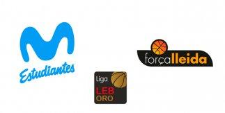 Movistar Estudiantes - ICG Força Lleida  (Liga LEB Oro. Jornada 1)