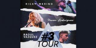 #3Tour - Nerea Rodríguez, Raoul Vázquez y Ricky Merino