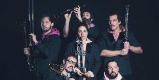 Orquesta de malabares. Pistacatro + Banda Sinfónica Municipal