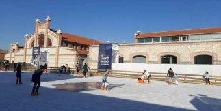 Pista de hielo de Matadero Madrid 2019-2020