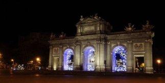 Puerta de Alcalá Navidad 2020