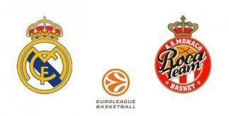 Real Madrid - AS Mónaco (Euroliga)