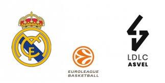 Real Madrid - Asvel Lyon-Villeurbanne (Euroliga)