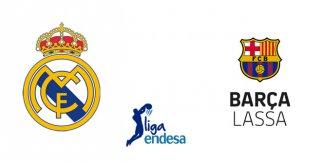 Real Madrid - Barça Lassa (Liga Endesa. Jornada 24)
