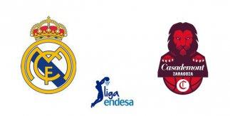Real Madrid - Casademont Zaragoza (Liga Endesa)