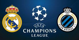 Real Madrid - Club Brujas (UEFA Champions League)