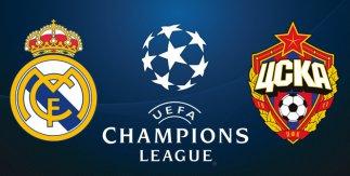 Real Madrid - CSKA Moscú (UEFA Champions League. Fase de grupos)