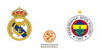 Real Madrid - Fenerbahçe Istanbul (Euroliga. Jornada 1)