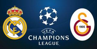 Real Madrid - Galatasaray (UEFA Champions League.