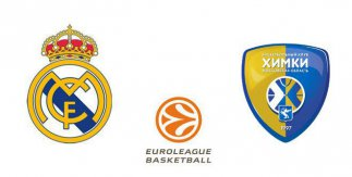 Real Madrid - Khimki Moscú Region (Euroliga)