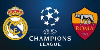 Real Madrid - Roma (UEFA Champions League. Fase de grupos)