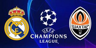 Real Madrid - Shakhtar Donetsk (UEFA Champions League)