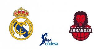 Real Madrid - Tecnyconta Zaragoza (Liga Endesa. Jornada 16)